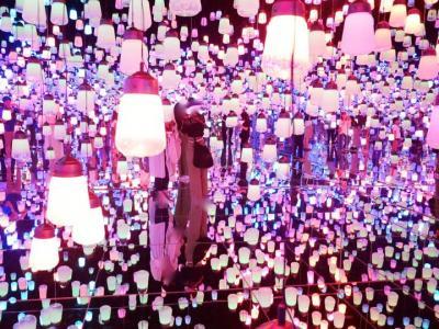 2018年夏!:2018年6月21日(木)に開業!『MORI Building DIGITAL ART MUSEUM: teamLab Borderless』『森ビルデジタルアート ミュージアム エプソン チームラボボーダレス』に行く!(家族で)