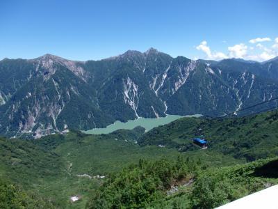2018.07 立山黒部アルペンルート(5)室堂→黒部湖