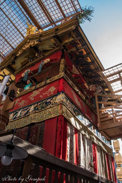 結婚式参列ついでに、猛暑の京都観光(2)祭りに興味はないが、祇園祭りだけは一目見ておこう