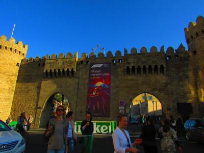 497. Azerbaijanバクーの旧市街を歩く [アゼルバイジャン編Part1]