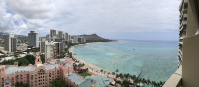 ハワイへ新婚旅行①