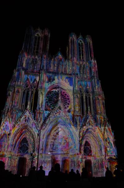転職記念!?でヨーロッパ周遊 その23 ランスで2つの世界遺産とまたもや音と光のショーを楽しむ