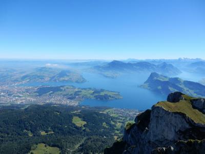 ルツェルンからピラトゥス山へ「ゴールデン周遊旅行」体験記