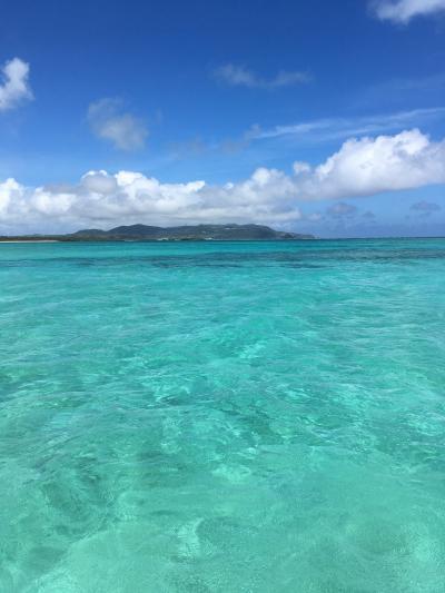 JTA直行便で初久米島旅行(ダイビング、はての浜ツアー、SUP体験、乗馬体験、島内観光   ※台風10号にも遭遇)