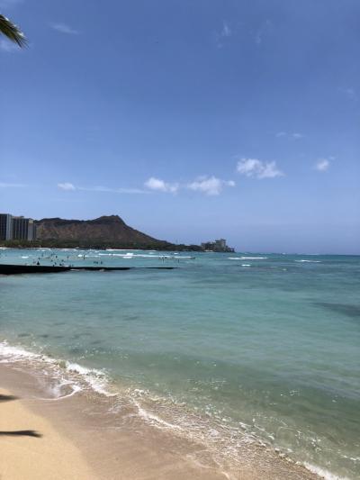 ハワイへ新婚旅行②