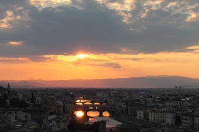 ステキな5都市をひとり旅~4.3つ目の訪問地(1) フィレンツェ4泊~到着日