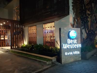 2018GW バリ島(26) 初日に泊まったホテル< ベストウェスタン ビラ クタ (Best Western Kuta Villa)>