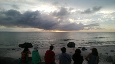 続そこにあるのになかなか行けない水納島 さてどうなるか の2018年多良間島の夏休み(2日目多良間島行動開始編)