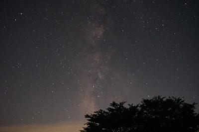 美しい星の町で星見キャンプ