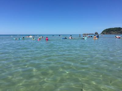 中国地方の旅2018年夏~山陰浜田でぼっち海水浴
