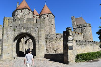 レンタカーで巡るフランスとスペインの旅③ーフランス 歴史的要塞都市カルカソンヌ