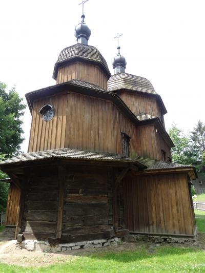 ポーランド ドライブ旅【4】ルブリン村野外博物館を散策の後、カジミエシュ・ドルヌィ村へ