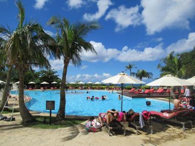 夏リゾート沖縄(23)夏真っ盛りでリゾート感たっぷりホテル日航アリビラとベルデマールの朝食