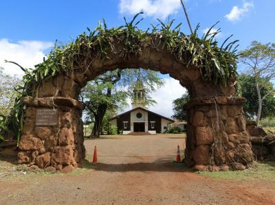 ハワイの休日・長いようで短かった23日間 オリオリ・シャトルに乗って「ハレイワ・タウン」をぶらぶら散歩。(2018)
