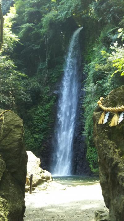 涼しさをもとめて「養老の滝」を訪ねる!
