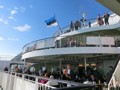 日帰りタリン旅 その1 フェリーに乗って、ヘルシンキからタリンへ < 白夜のフィンランド旅 3日目その1 >