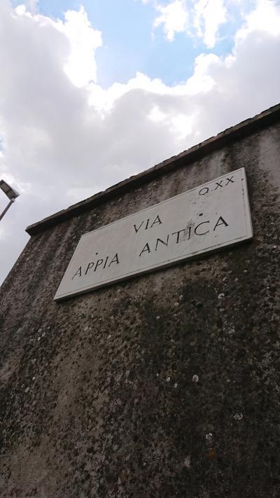 7月8~22日、ローマ+郊外+かかと部分に一人旅(アッピア街道編)