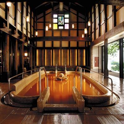 昔懐かし街のパン屋サカエパンに寄った後は岐阜長良川温泉十八楼露天風呂付き客室で湯ったり。