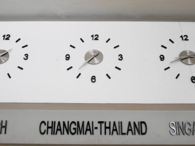 チェンマイ空港にて