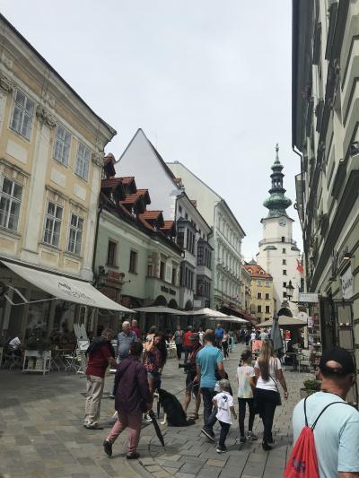 久々ヨーロッパ、初ウィーンひとり旅!④隣国スロバキアのブラチスラバまでお出かけ