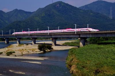 山陽新幹線に走るピンク色の新幹線!「ハローキティ新幹線」をもっと追いかけて坂越に訪れてみた