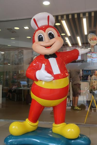 香港★台湾人の友達がやってきた1 お昼はなぜかフィリピンのファーストフード店で ~Jolibee~