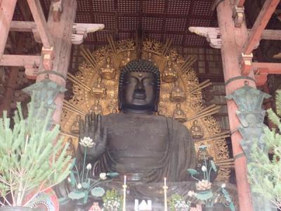 京都奈良へ(14)奈良東大寺の大仏。遠い昔の修学旅行を思い出します