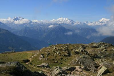 アレッチ氷河展望スポット、ベットマーホルン展望台(2647m)Part2