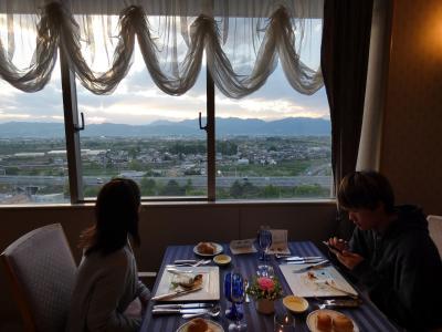 15.GW後半のロイヤルホテル長野2泊 ロイヤルホテル長野 フレンチレストラン アジュールの夕食