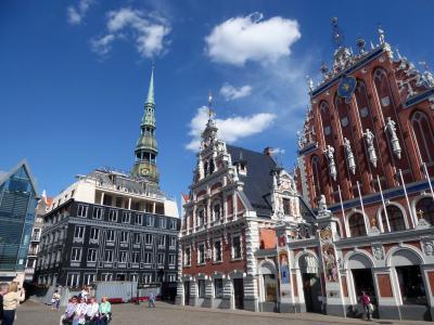 ラトビアの世界文化遺産の町リガを観光