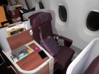 2018JULタイ・バンコク・TGタイ航空の新鋭機A350ビジネスクラス搭乗記・エーゲ航空特典航空券の残り利用で食べて寝るだけのバンコク滞在記