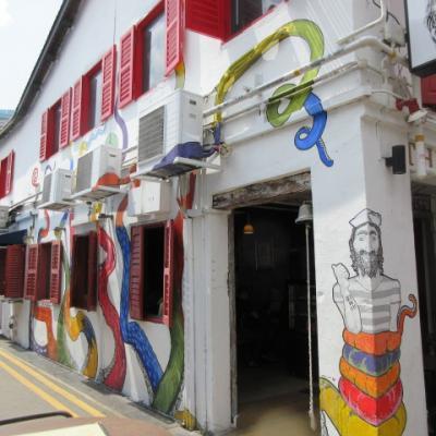 シンガポールで異文化見学 & ビジネス街のウェスティンシンガポール