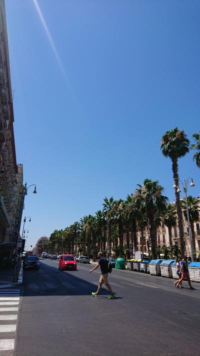 7月8~22日、ローマ+郊外+かかと部分に一人旅(バーリでグルメ編)