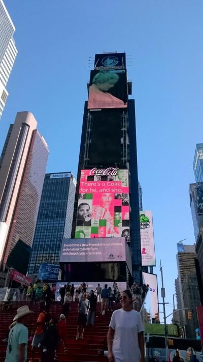 ビジネスクラスで真夏のNYへ 世界一の大都会母娘の珍道中~タイムズスクエア~自然史博物館~セントラルパーク~メトロポリタン美術館~街歩き~ミュージカルアラジン③