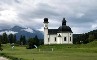 2017夏オーストリアとバイエルンの旅13:チロル地方まずはゼーフェルト