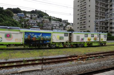JR横須賀駅構内の保線車両