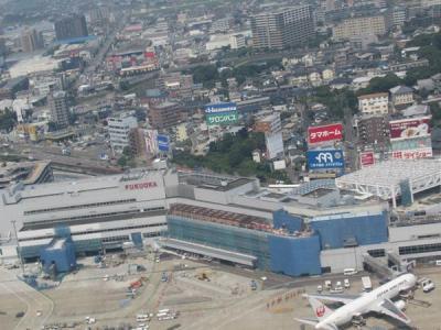 九州・夏(9)【終】JALファーストクラスの空旅で福岡から羽田へ