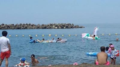 恒例の海水浴1泊旅行