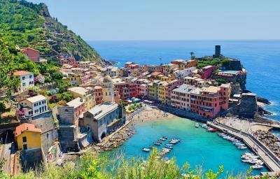 北イタリア湖水地方を巡る旅  <2> 憧れのチンクエ・テッレへ【ヴェルナッツァ編】