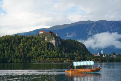 2017 スロベニア・クロアチア旅行②アルプスの瞳  ブレッド湖編