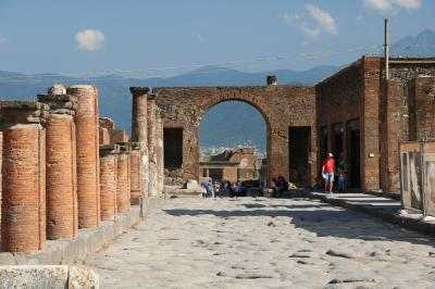 美しきシチリア島と南イタリアの旅Ⅷ(ポンペイ遺跡観光編)