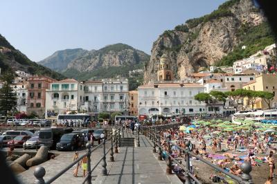 美しきシチリア島と南イタリアの旅Ⅹ(アマルフィー観光と帰国編)