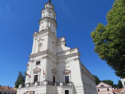 【 3 】 リトアニア・カウナスの街を観光  【 バルト3国ツアー 9日間 】