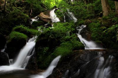 ◆深緑の奥久慈の滝めぐり・生田の大滝(おいだのおおたき)編