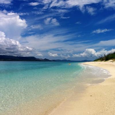 夏の沖縄! 水納島のビーチが美しすぎた
