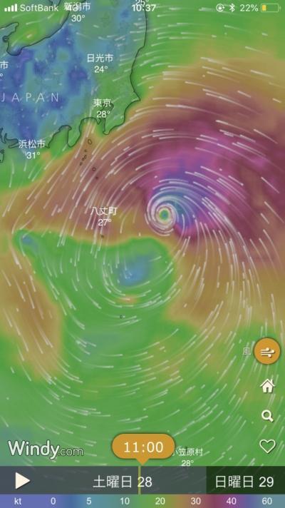 2018年7月、台風・・来てるし・・でも行っちゃえGO GO夏!湘南トリップ編