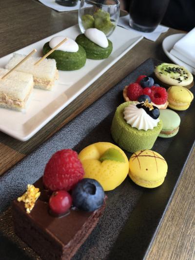 ANAインターコンチネンタルホテル東京のクラブインターコンチネンタルルーム宿泊 ホテルステイで食べまくり!