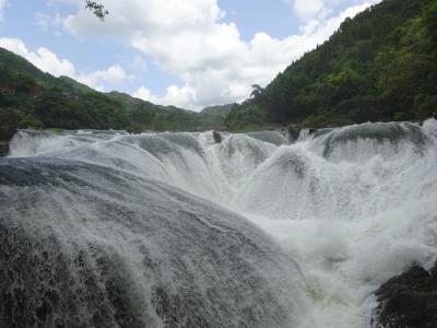 2018貴州旅行4(黄果樹風景区)豪快!黄果樹瀑布など滝めぐり