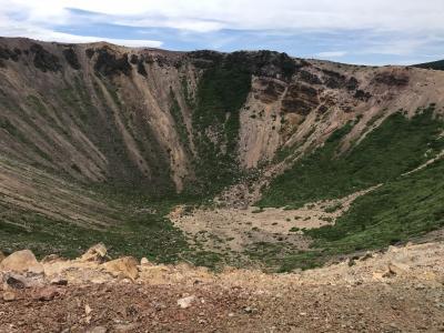 安達太良山ハイキング、飯坂温泉、浄土平(第2日)