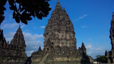 インドネシア・ラヤ! 5日目の1 プランバナン寺院群